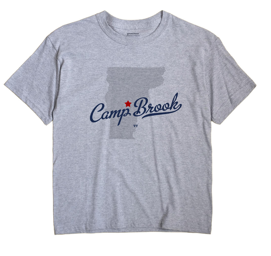 Camp Brook, Vermont VT Souvenir Shirt