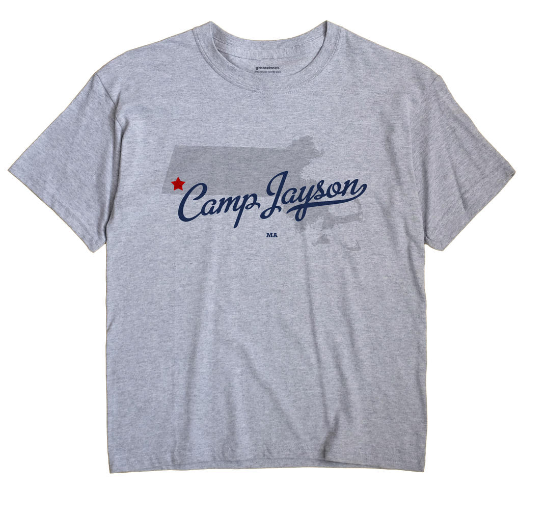 Camp Jayson, Massachusetts MA Souvenir Shirt