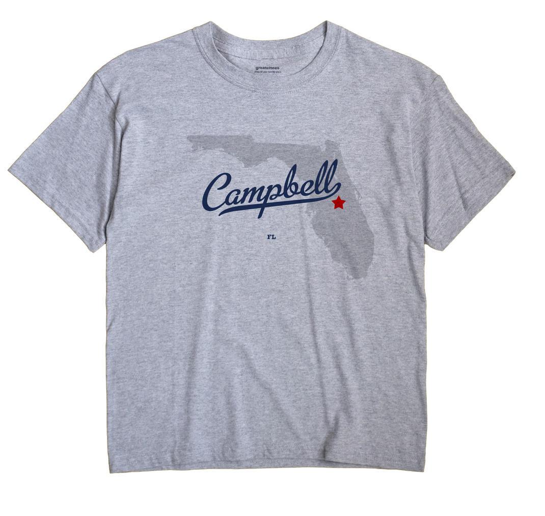 Campbell, Florida FL Souvenir Shirt