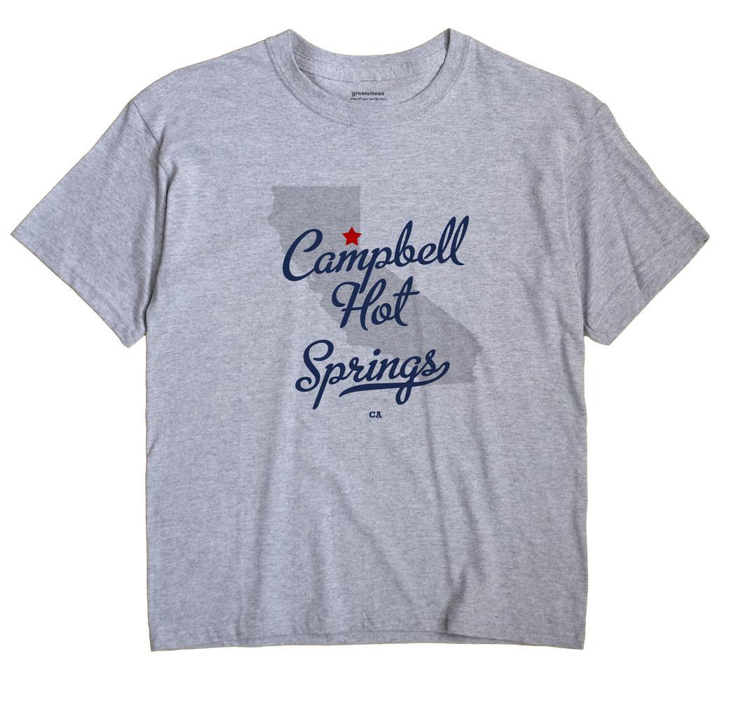Campbell Hot Springs, California CA Souvenir Shirt