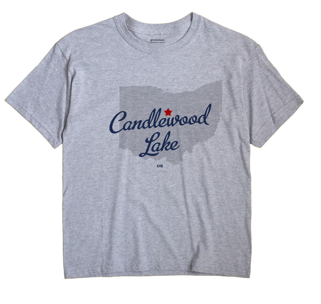 Candlewood Lake, Ohio OH Souvenir Shirt