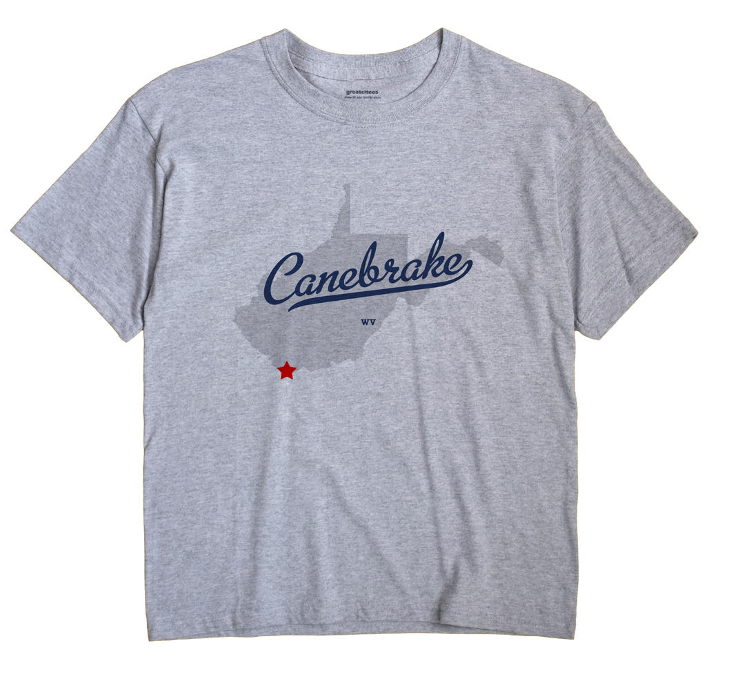 Canebrake, West Virginia WV Souvenir Shirt