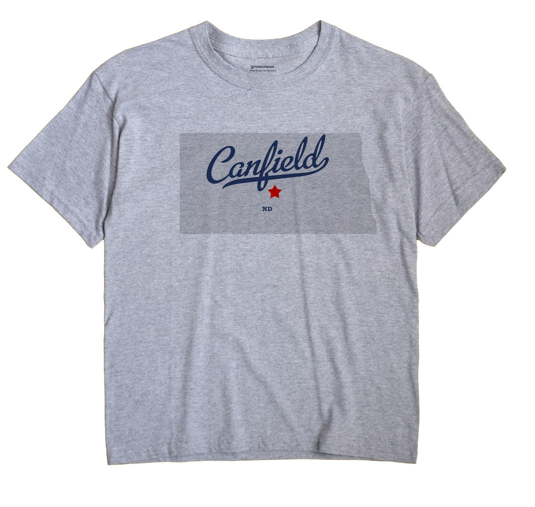 Canfield, North Dakota ND Souvenir Shirt