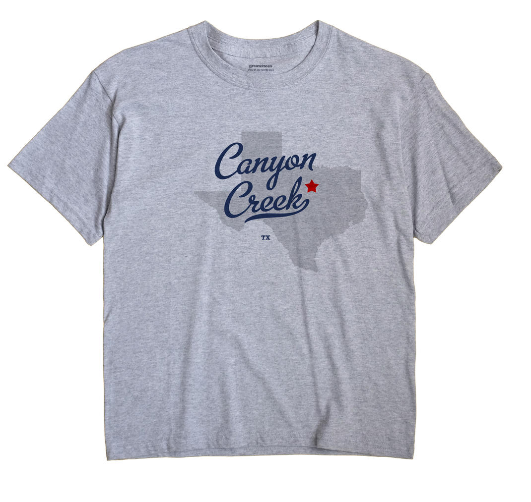 Canyon Creek, Texas TX Souvenir Shirt