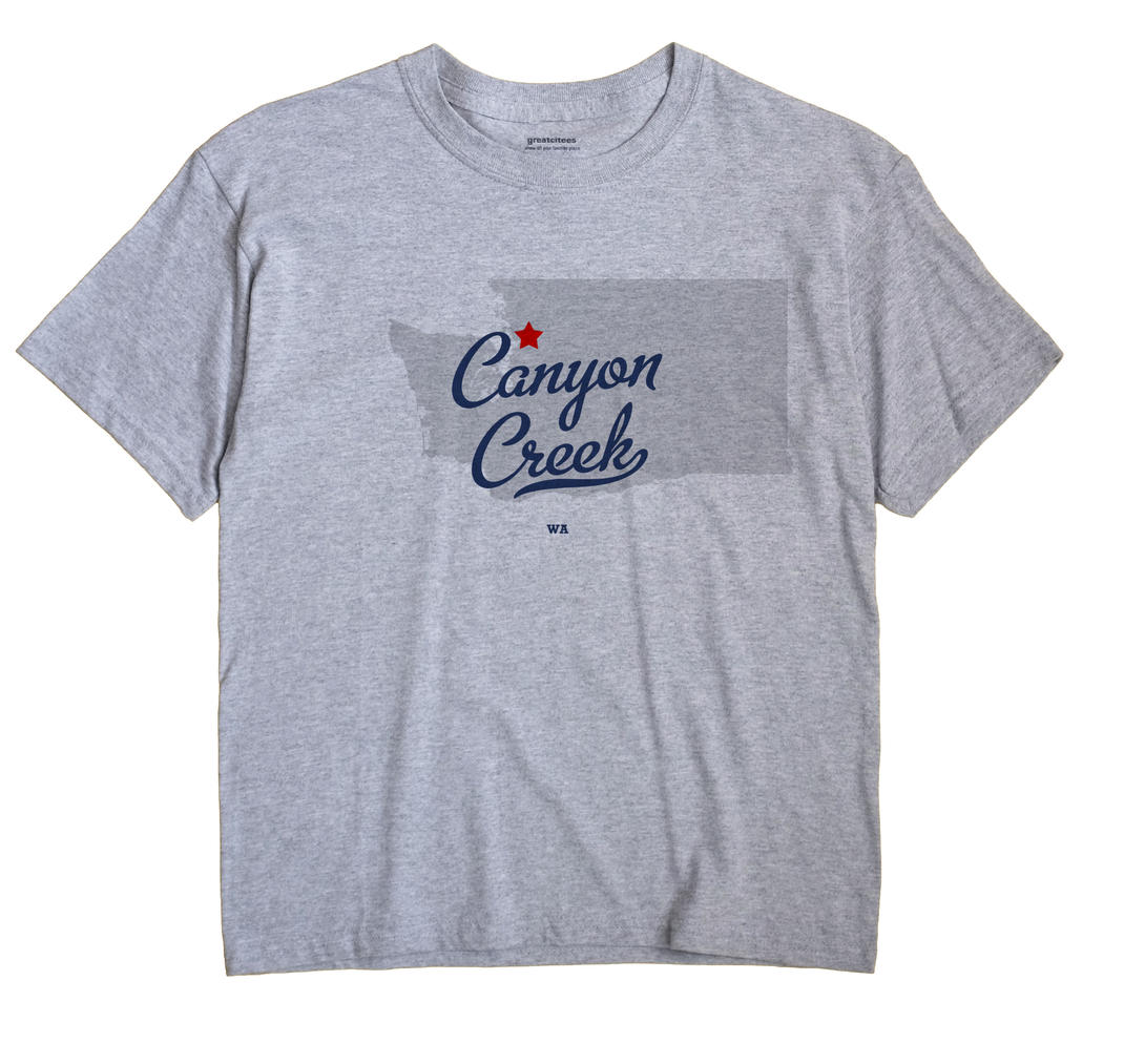 Canyon Creek, Washington WA Souvenir Shirt