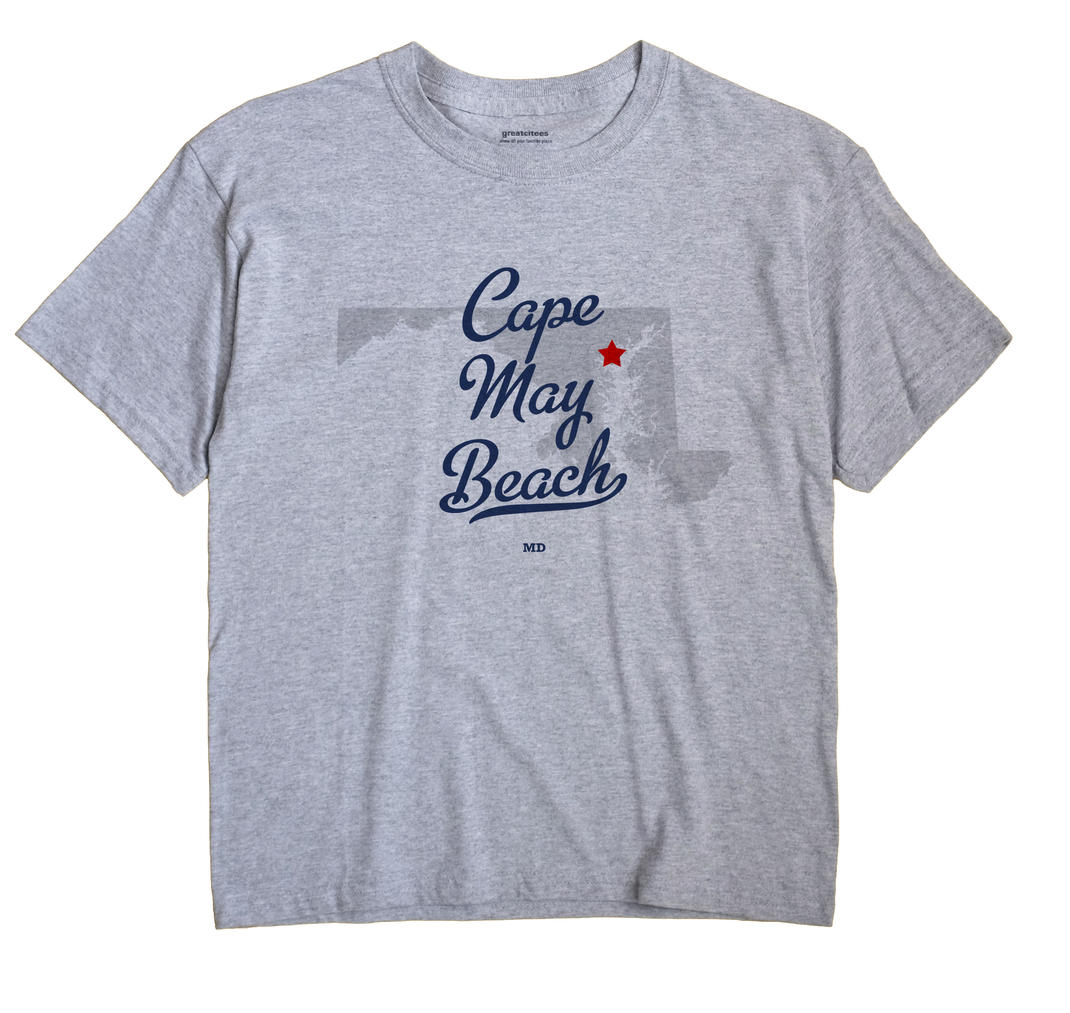 Cape May Beach, Maryland MD Souvenir Shirt