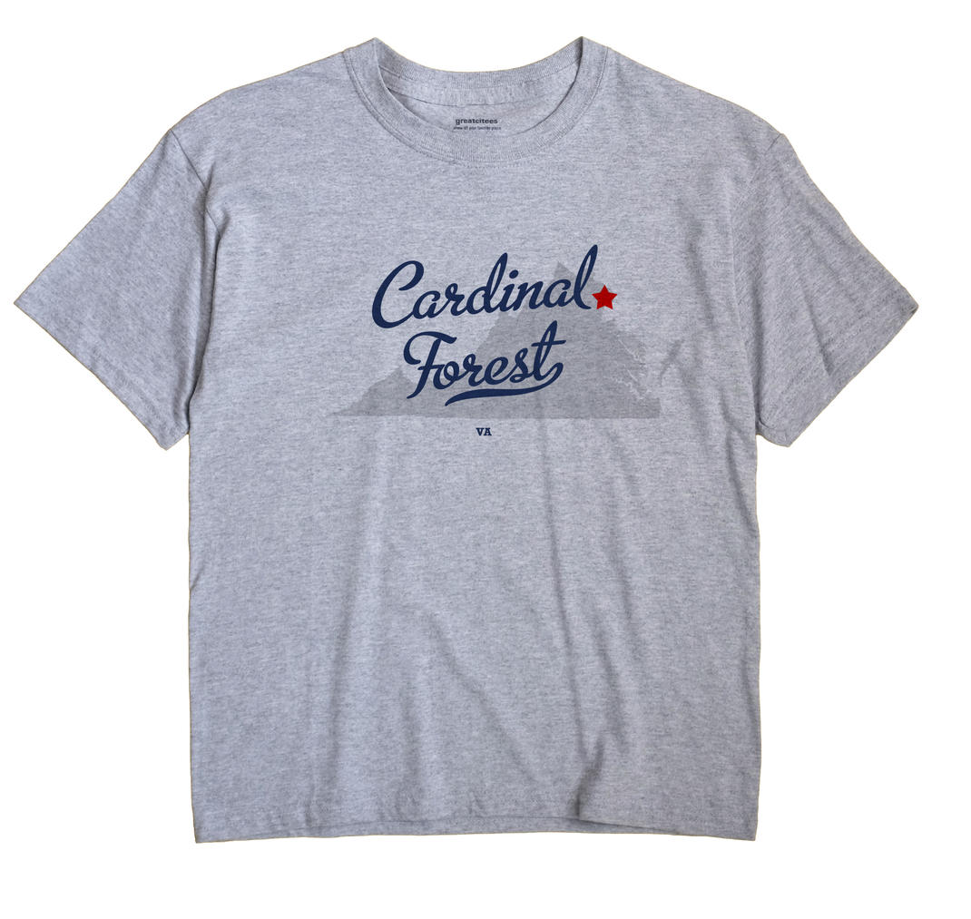 Cardinal Forest, Virginia VA Souvenir Shirt