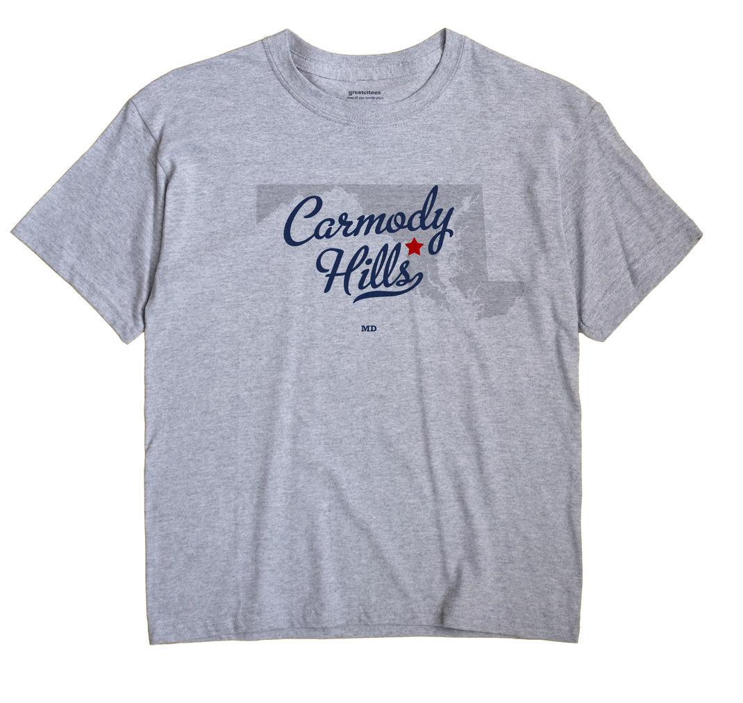 Carmody Hills, Maryland MD Souvenir Shirt