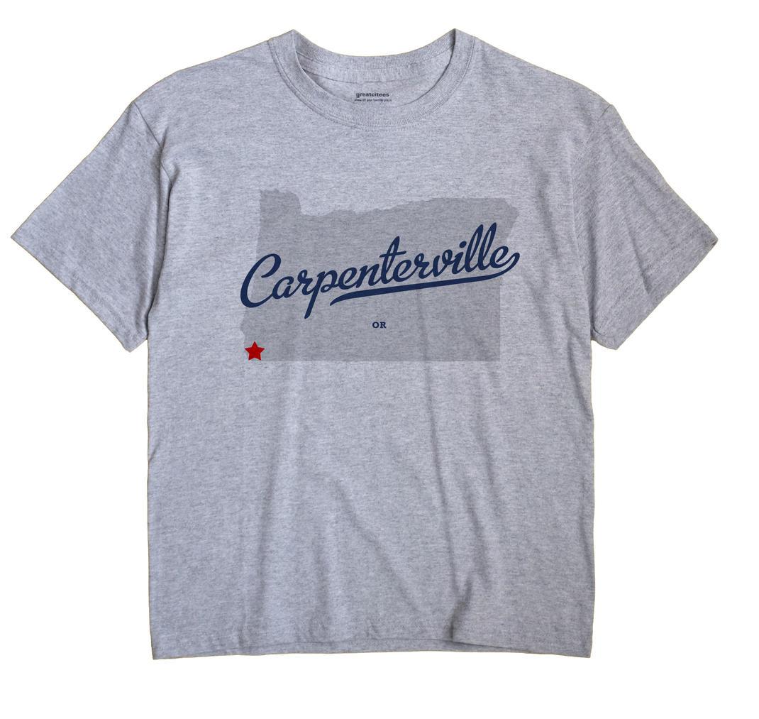 Carpenterville, Oregon OR Souvenir Shirt