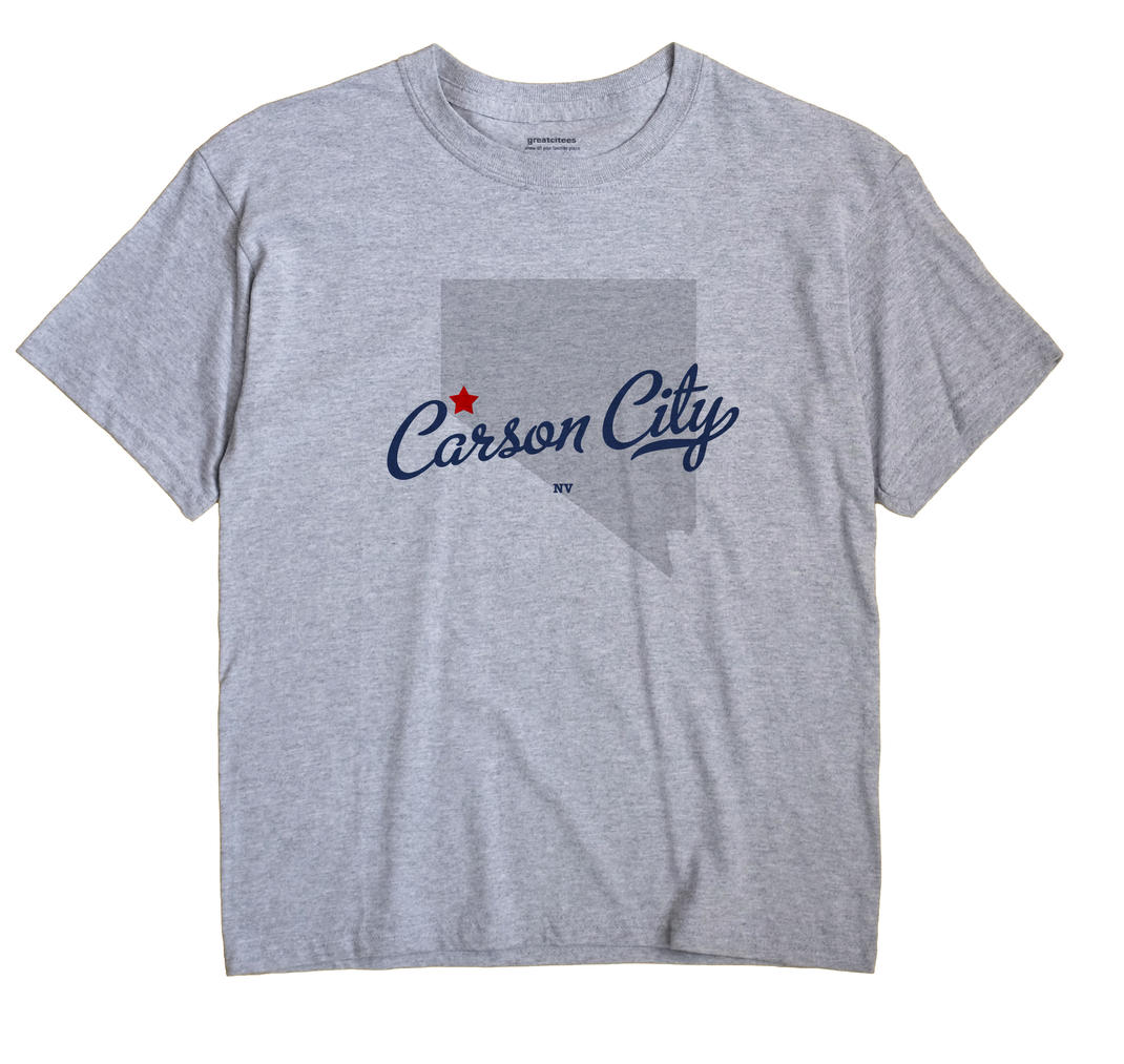 Carson City, Nevada NV Souvenir Shirt