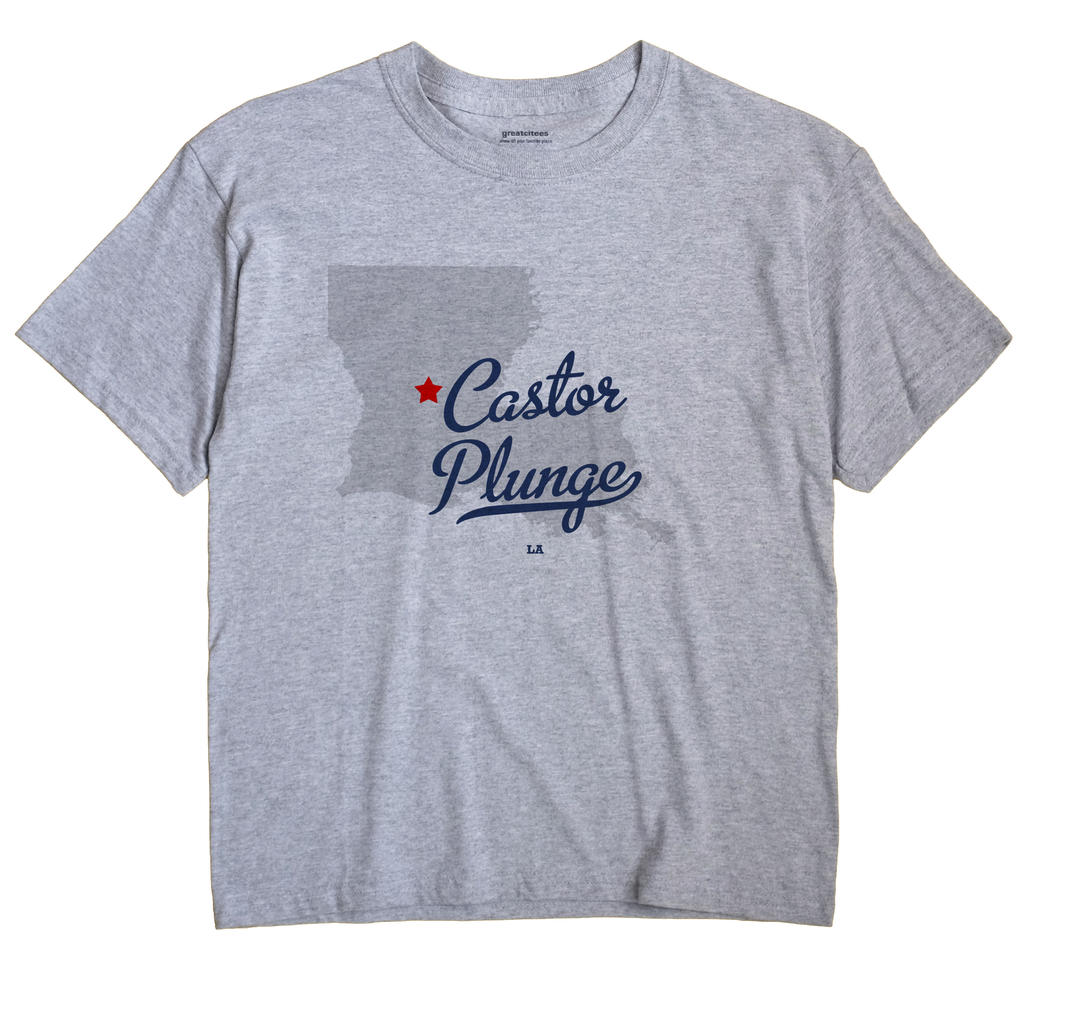 Castor Plunge, Louisiana LA Souvenir Shirt