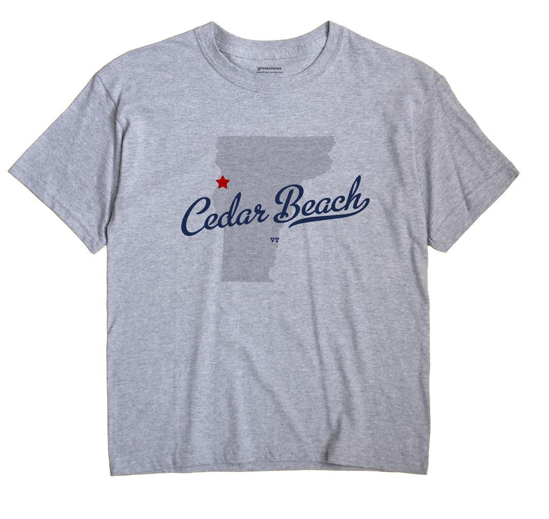 Cedar Beach, Vermont VT Souvenir Shirt