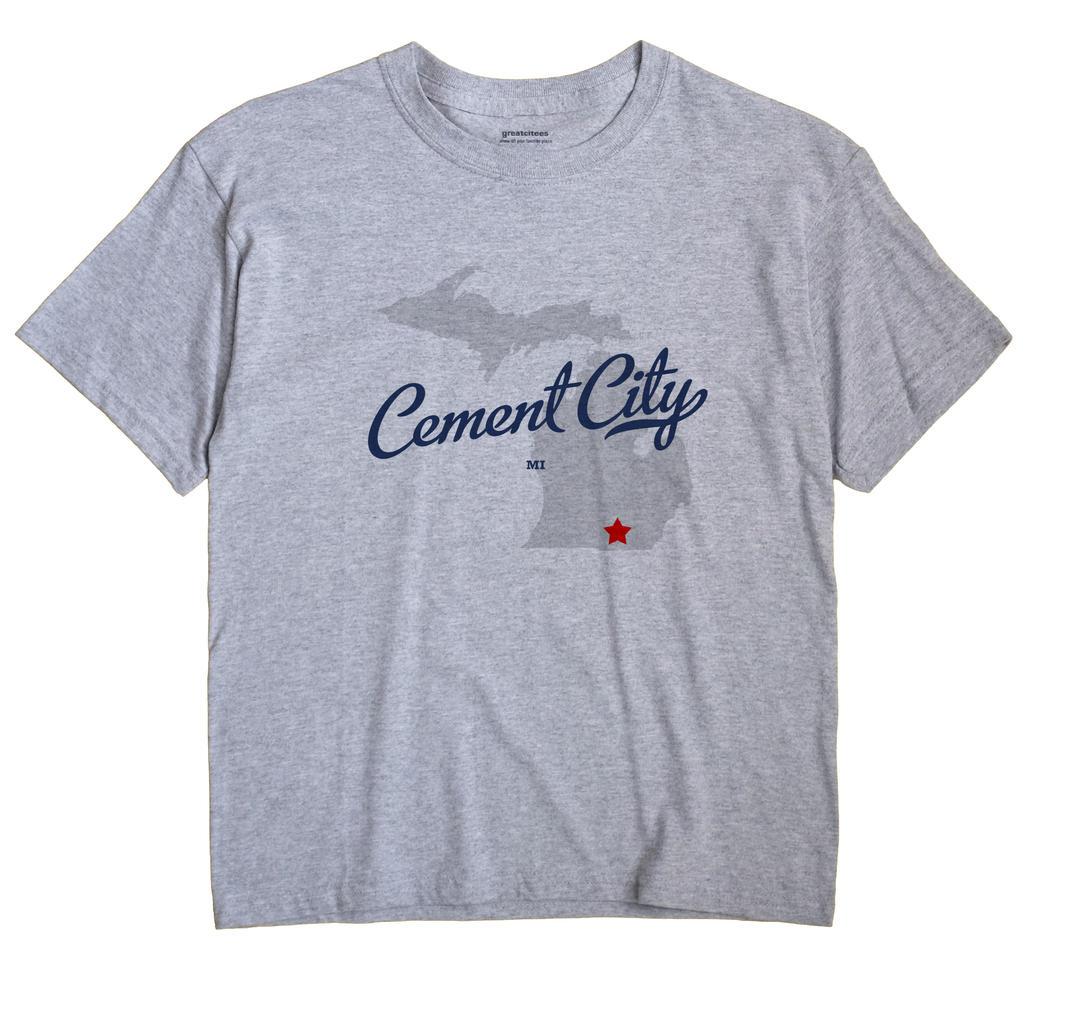 Cement City, Michigan MI Souvenir Shirt