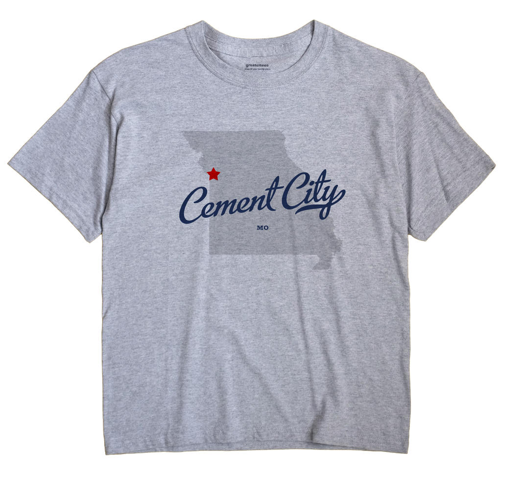 Cement City, Missouri MO Souvenir Shirt