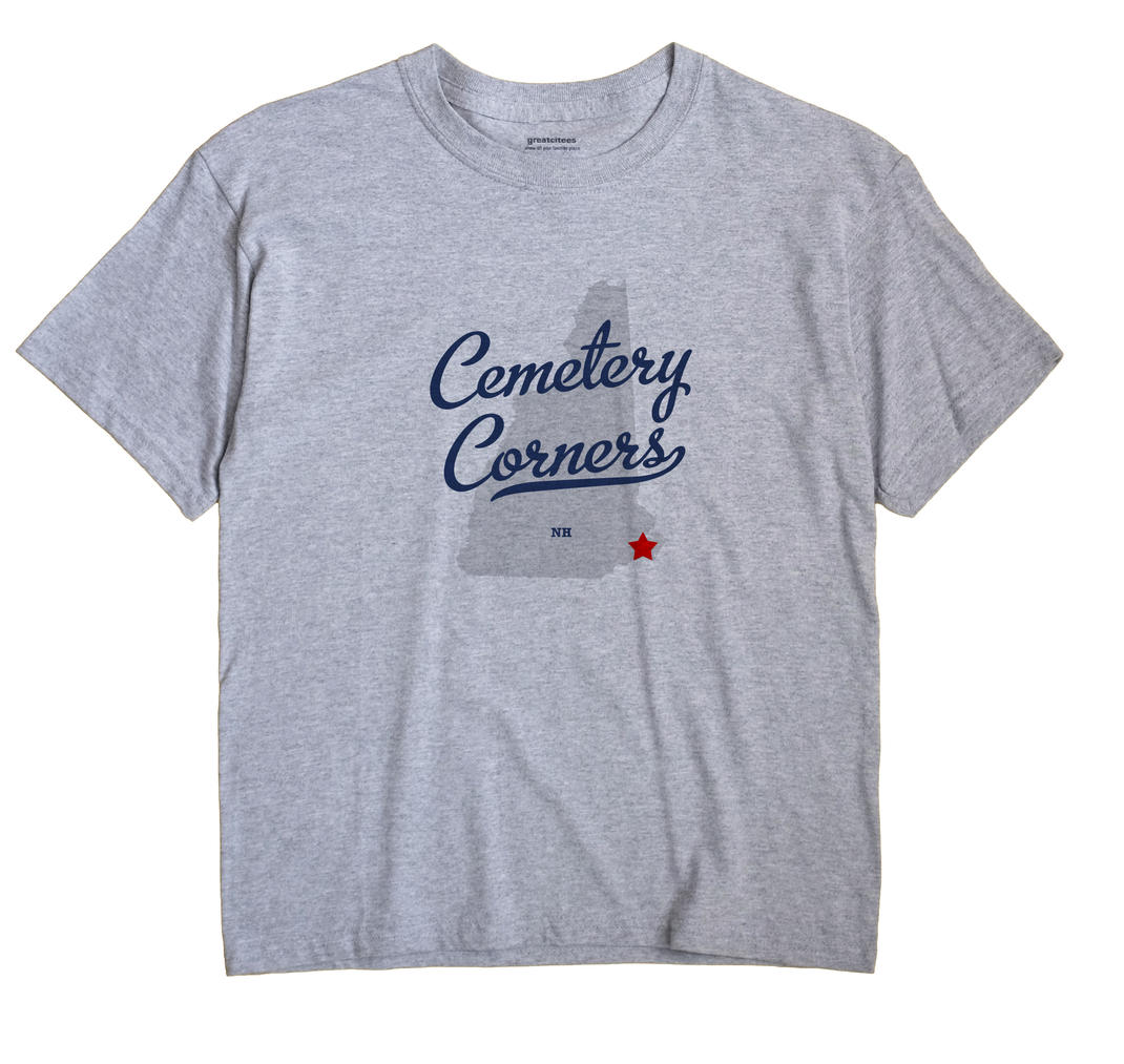 Cemetery Corners, New Hampshire NH Souvenir Shirt