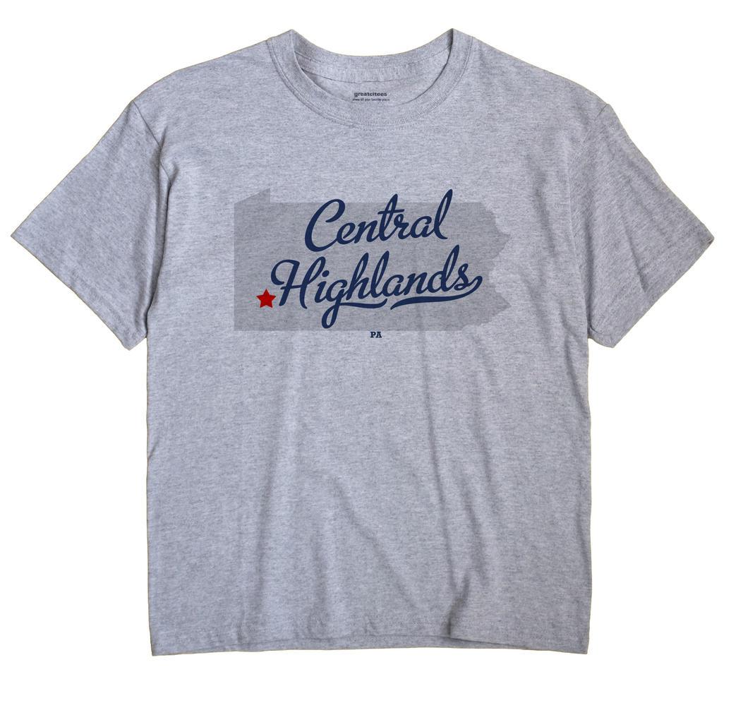 Central Highlands, Pennsylvania PA Souvenir Shirt