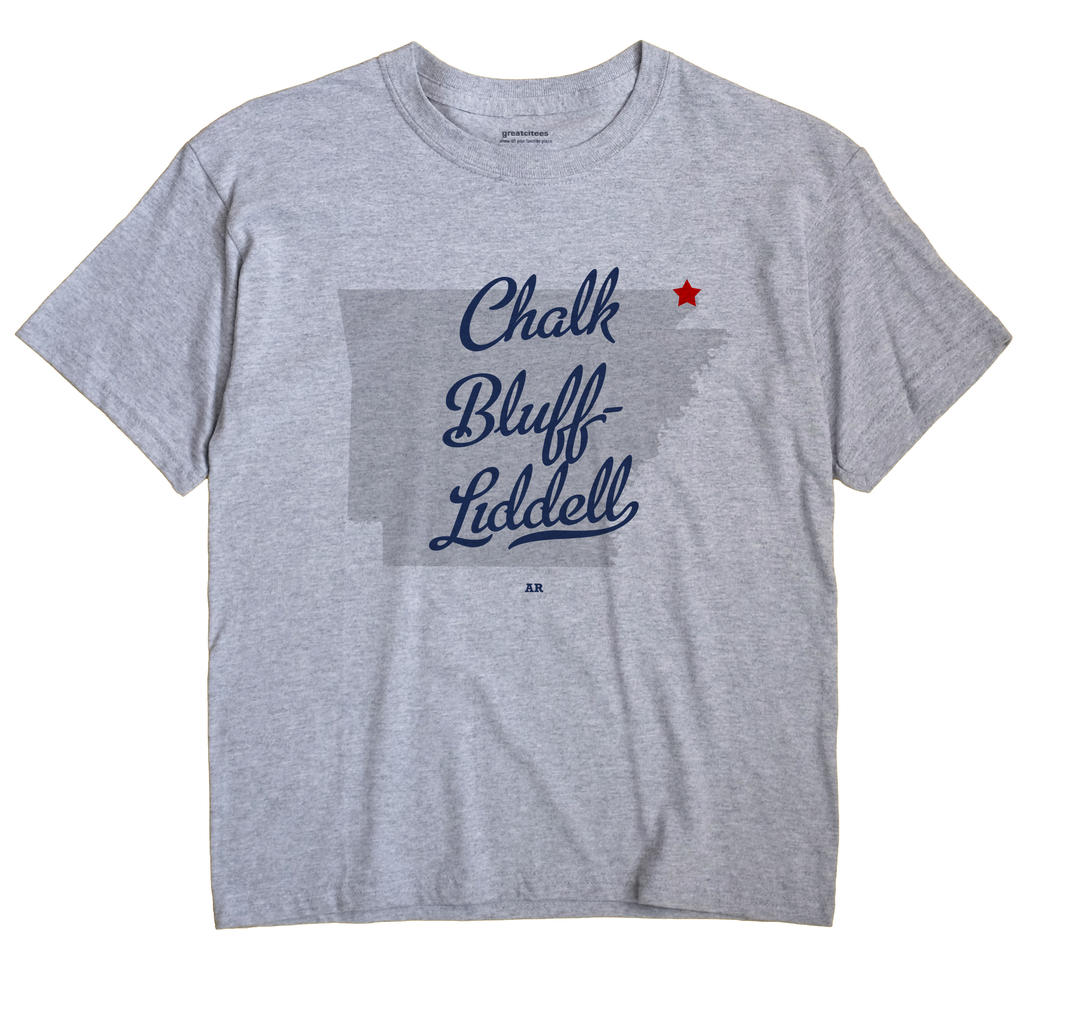 Chalk Bluff-Liddell, Arkansas AR Souvenir Shirt