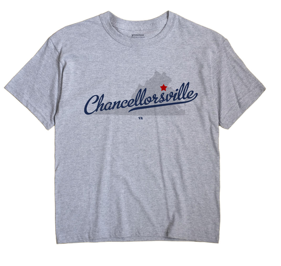 Chancellorsville, Virginia VA Souvenir Shirt