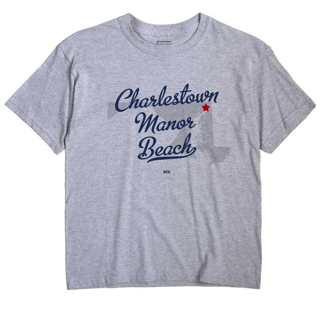 Charlestown Manor Beach, Maryland MD Souvenir Shirt