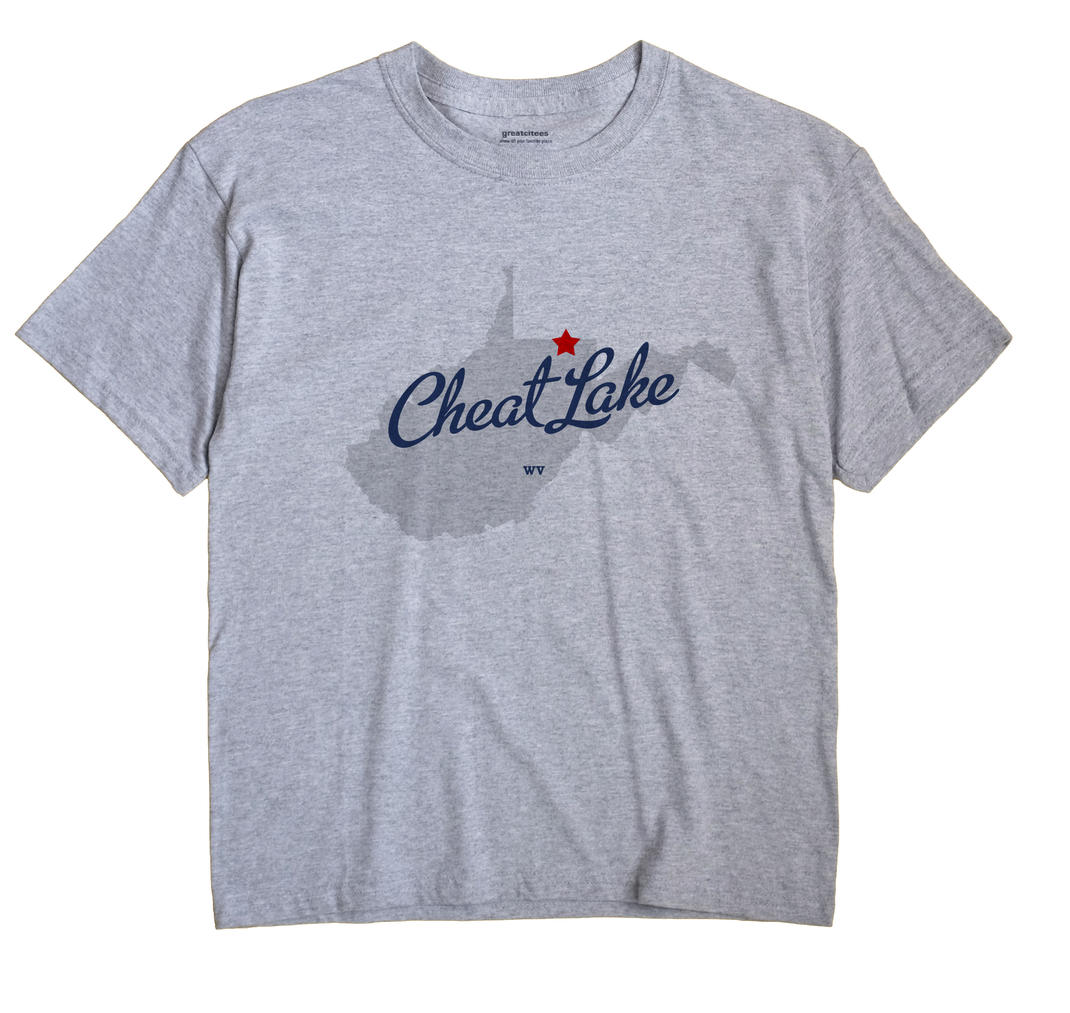 Cheat Lake, West Virginia WV Souvenir Shirt