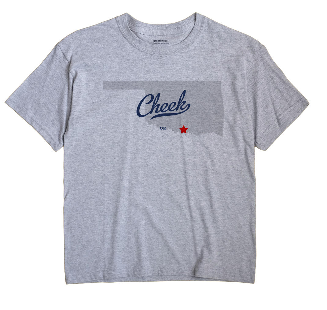 Cheek, Oklahoma OK Souvenir Shirt