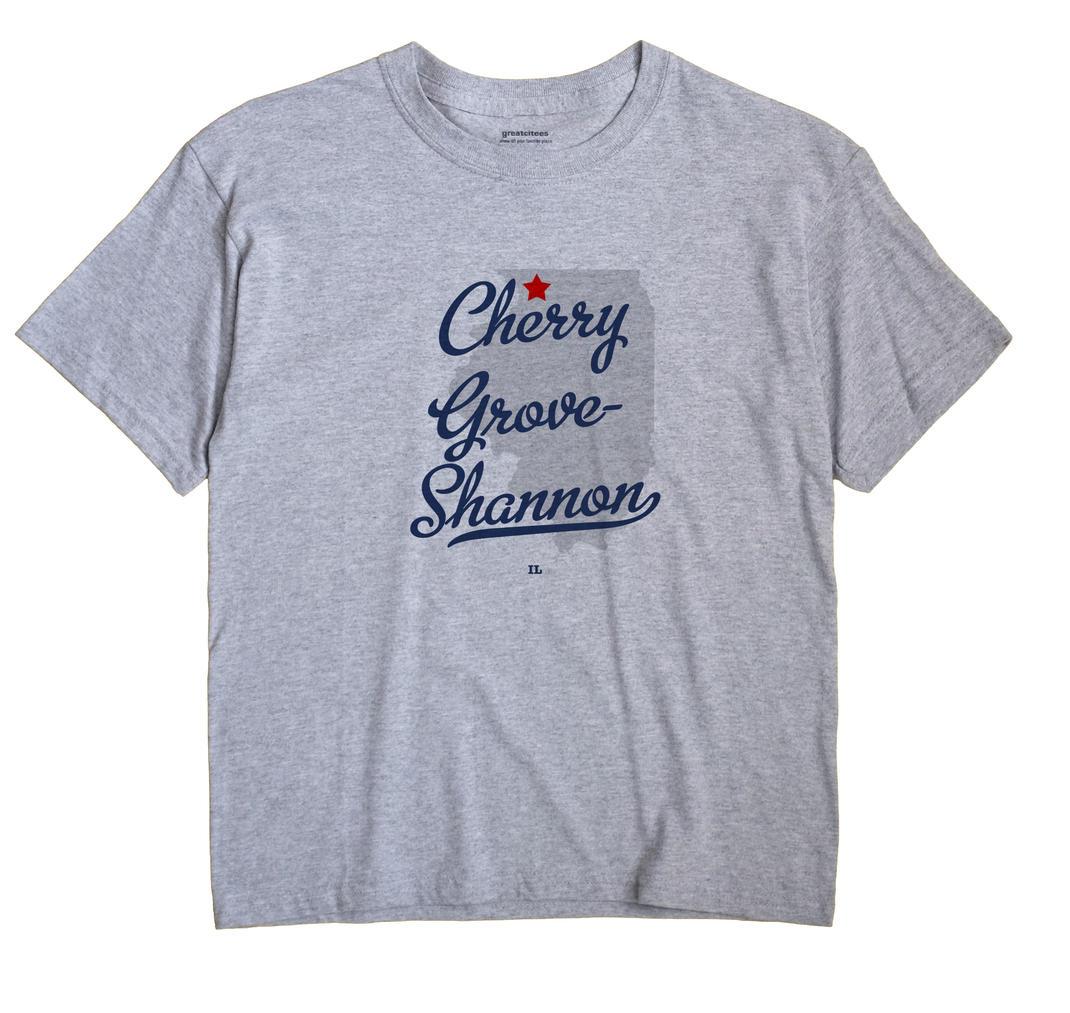 Cherry Grove-Shannon, Illinois IL Souvenir Shirt