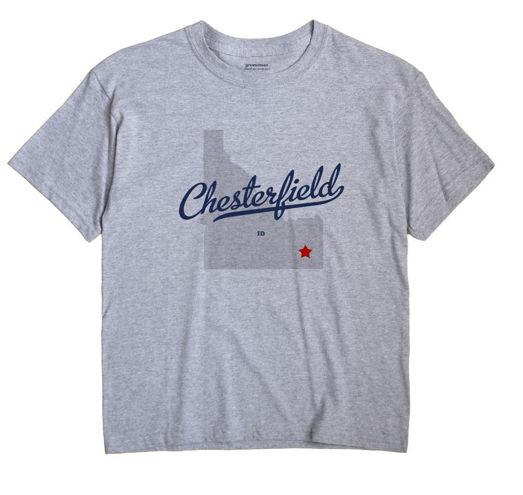 Chesterfield, Idaho ID Souvenir Shirt
