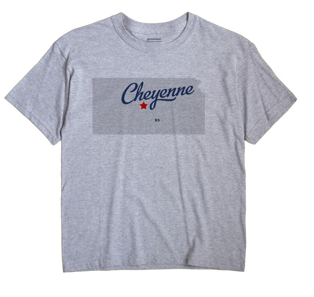Cheyenne, Barton County, Kansas KS Souvenir Shirt