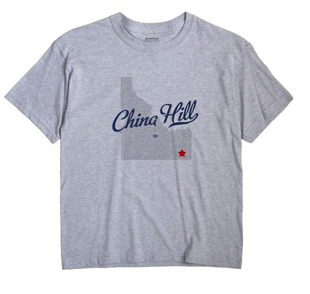 China Hill, Idaho ID Souvenir Shirt