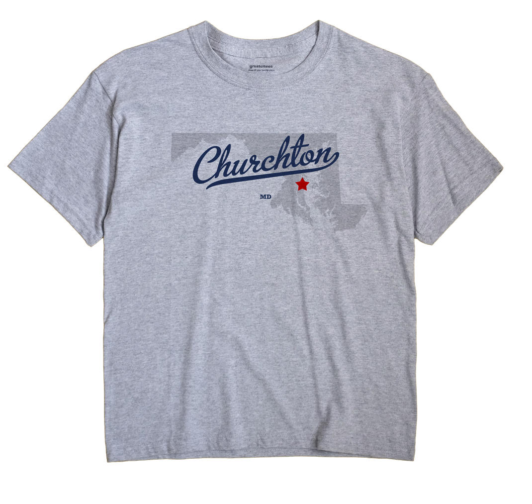 Churchton, Maryland MD Souvenir Shirt