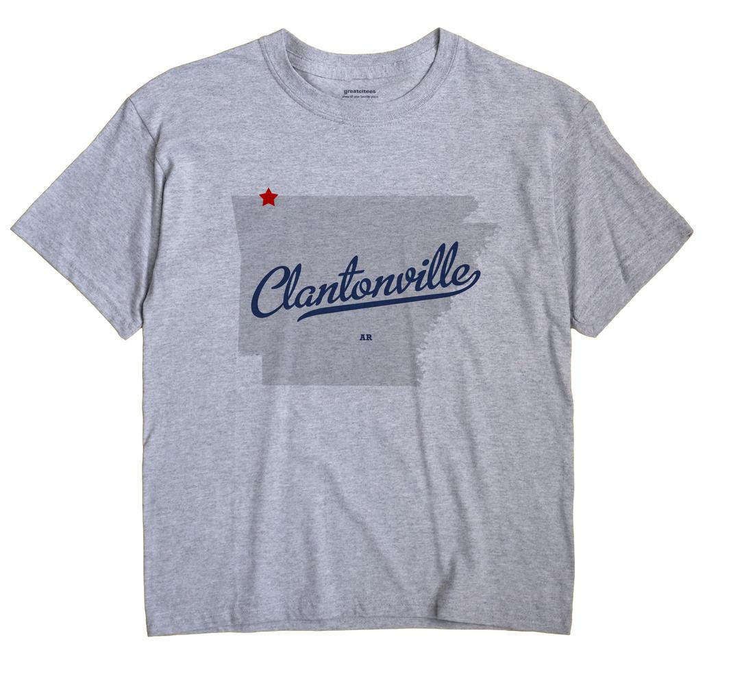 Clantonville, Arkansas AR Souvenir Shirt