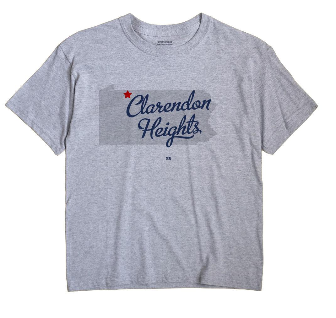 Clarendon Heights, Pennsylvania PA Souvenir Shirt