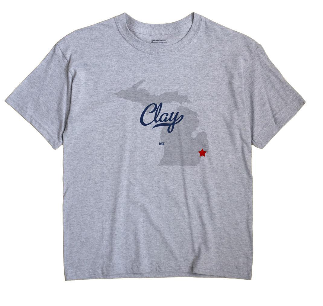 Clay, Michigan MI Souvenir Shirt