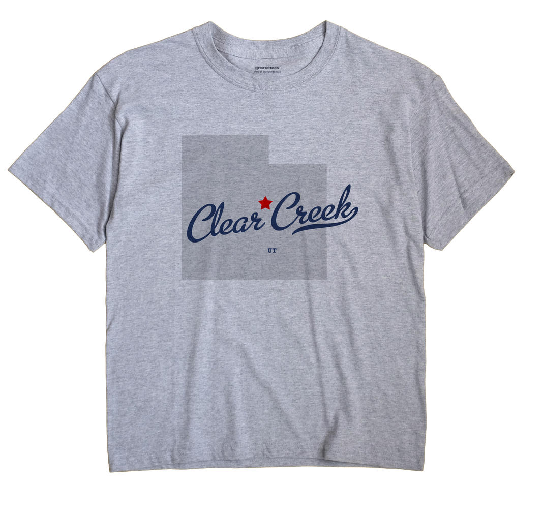 Clear Creek, Utah UT Souvenir Shirt