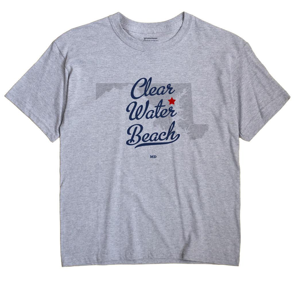 Clear Water Beach, Maryland MD Souvenir Shirt
