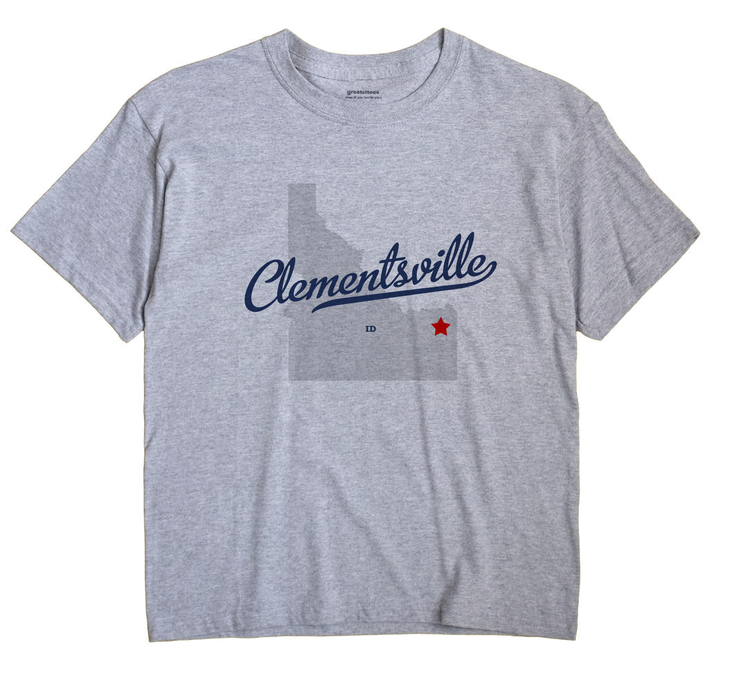 Clementsville, Idaho ID Souvenir Shirt