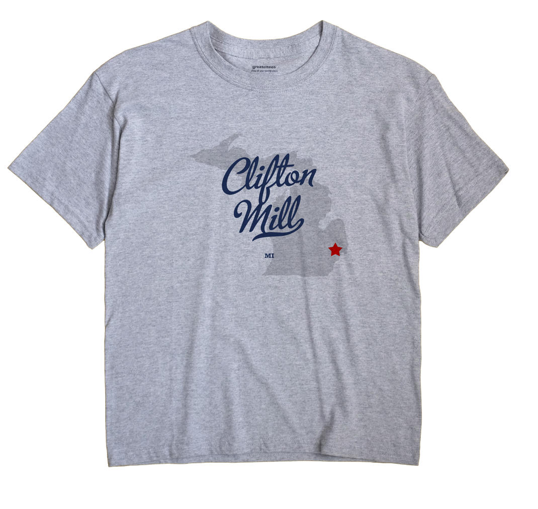 Clifton Mill, Michigan MI Souvenir Shirt