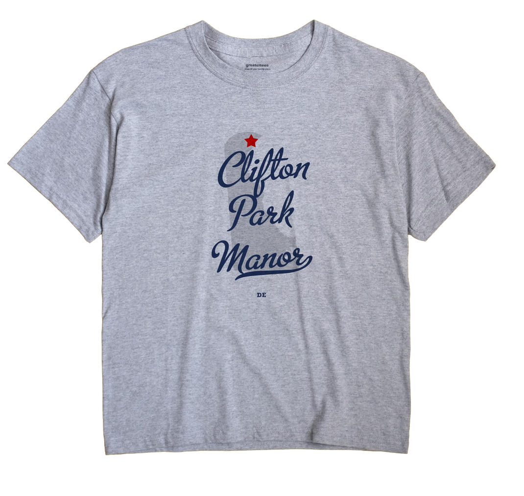 Clifton Park Manor, Delaware DE Souvenir Shirt
