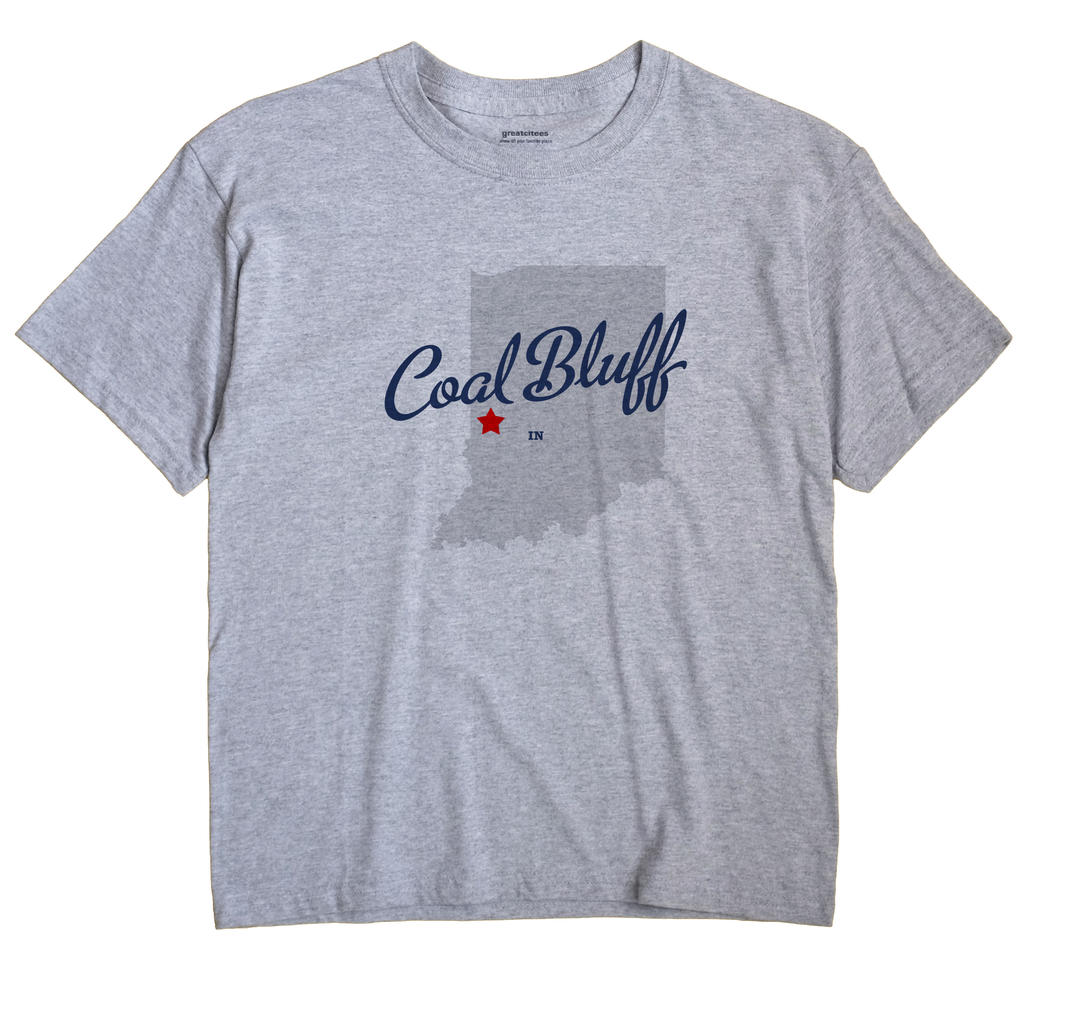 Coal Bluff, Indiana IN Souvenir Shirt