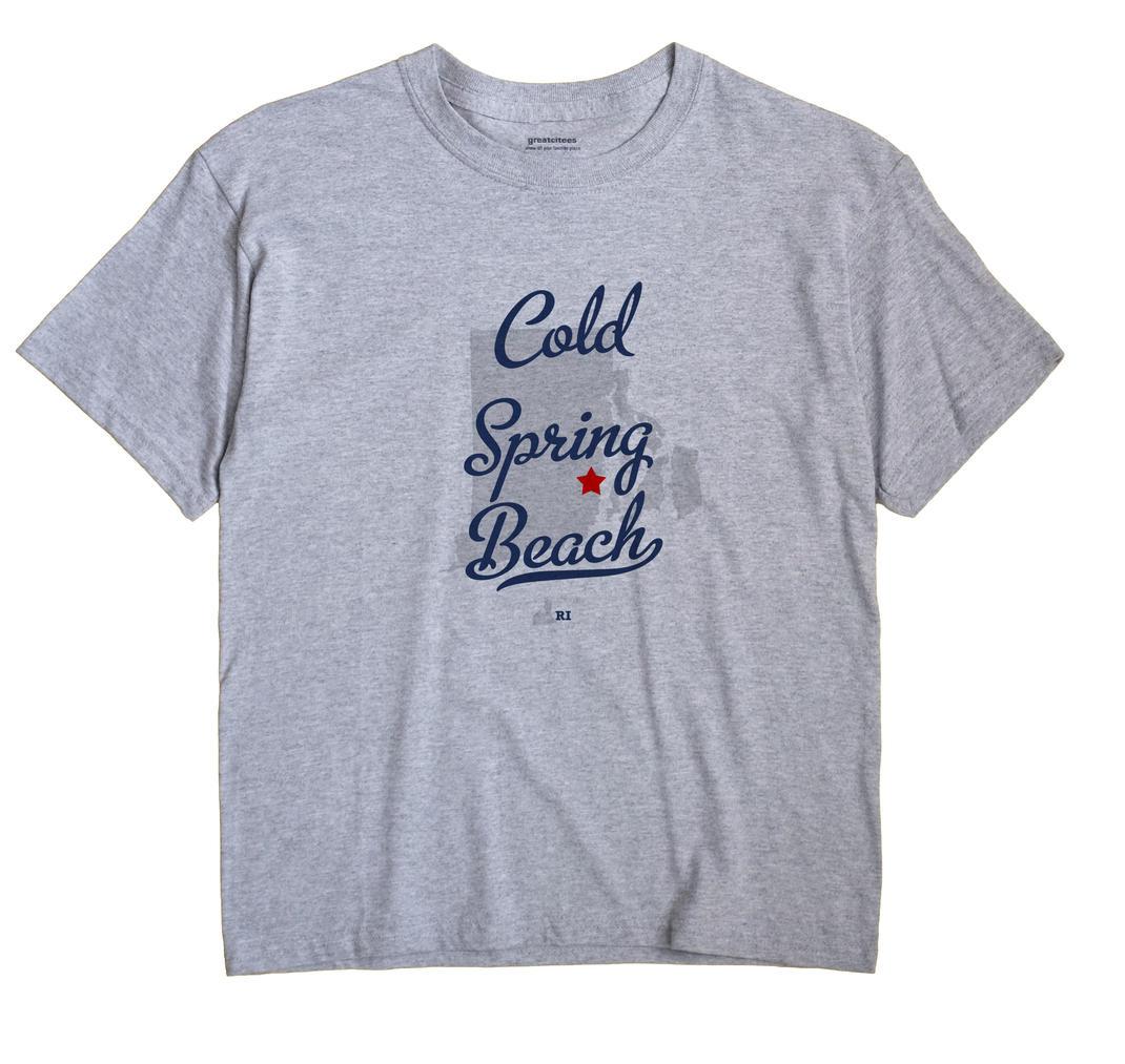 Cold Spring Beach, Rhode Island RI Souvenir Shirt