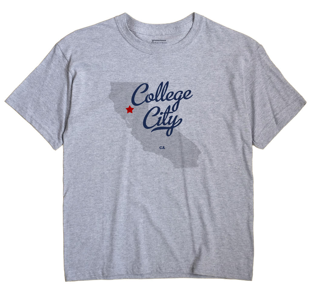 College City, California CA Souvenir Shirt