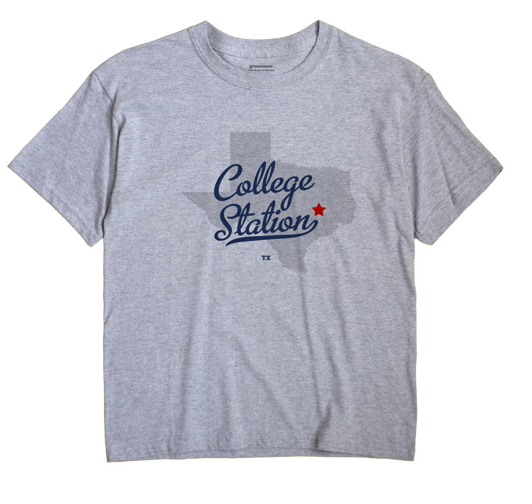 College Station, Texas TX Souvenir Shirt