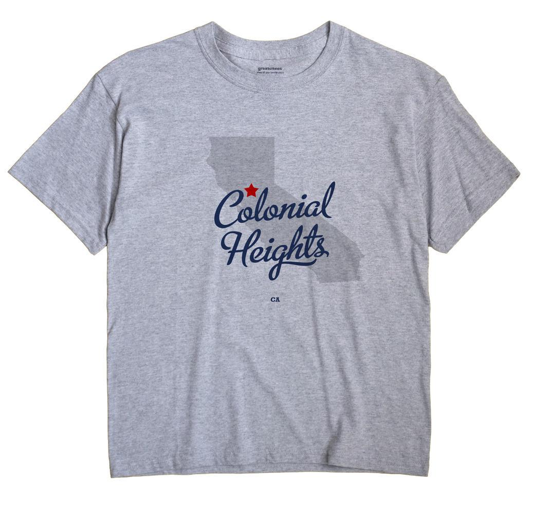 Colonial Heights, California CA Souvenir Shirt