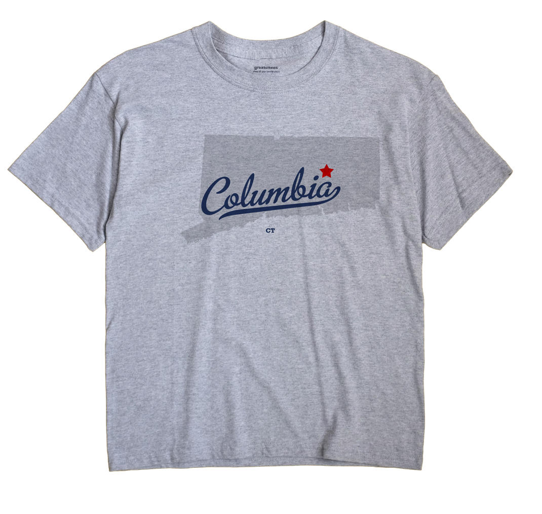 Columbia, Connecticut CT Souvenir Shirt