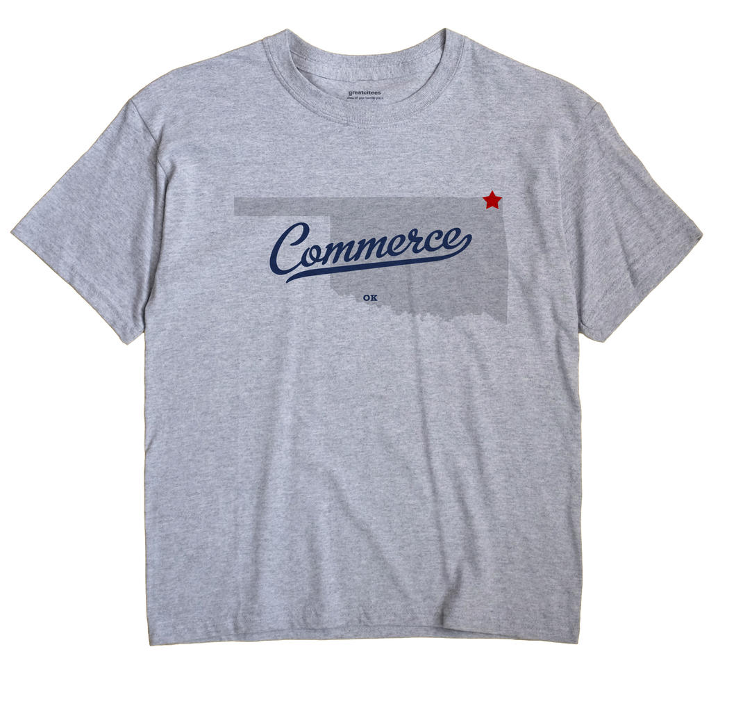 Commerce, Oklahoma OK Souvenir Shirt