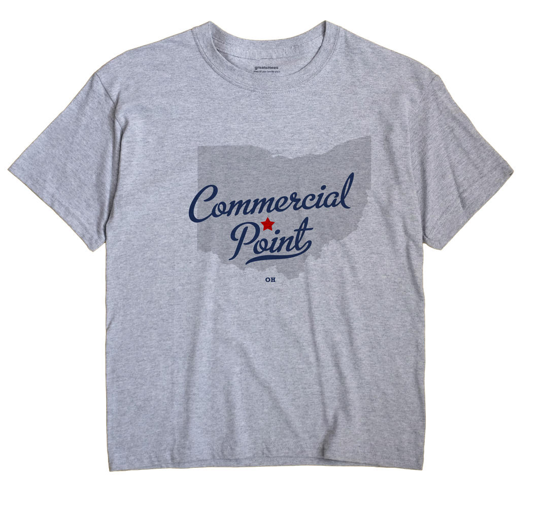 Commercial Point, Ohio OH Souvenir Shirt