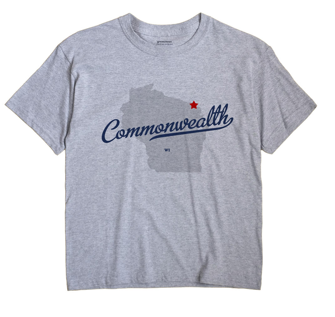 Commonwealth, Wisconsin WI Souvenir Shirt