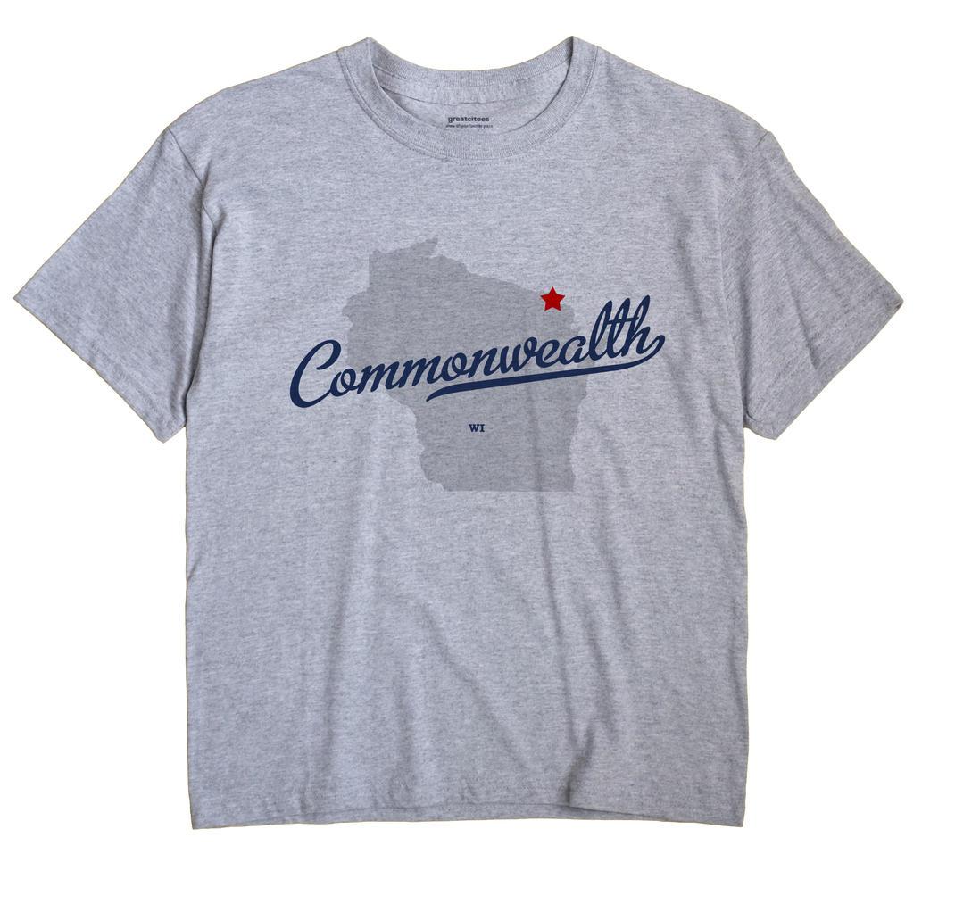 Commonwealth, Wisconsin WI Souvenir Shirt