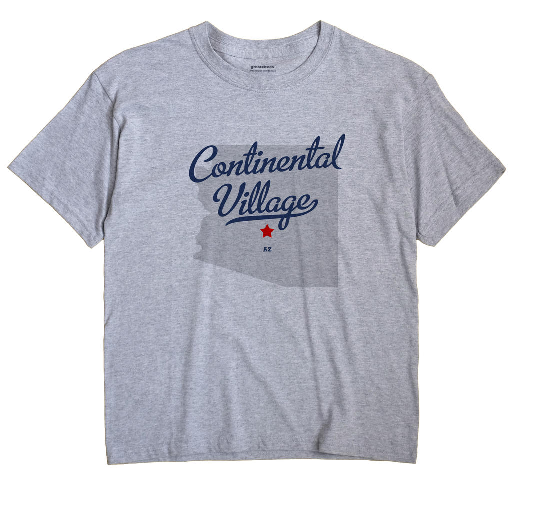 Continental Village, Arizona AZ Souvenir Shirt