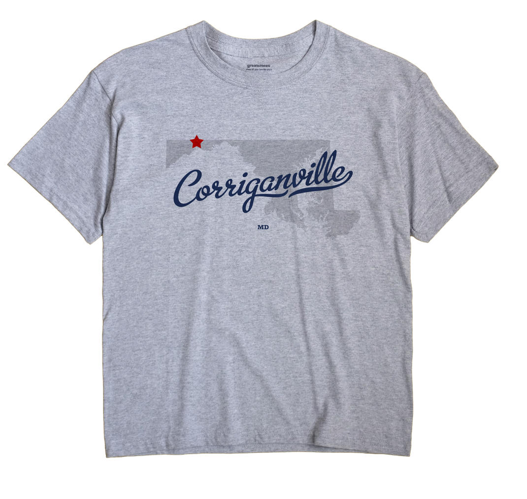 Corriganville, Maryland MD Souvenir Shirt